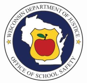 Dept of Justice school safety logo